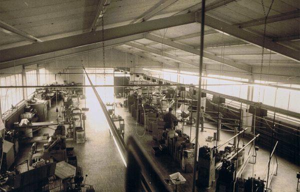 Präzisionsteile und Normteile Herstellung um 1967
